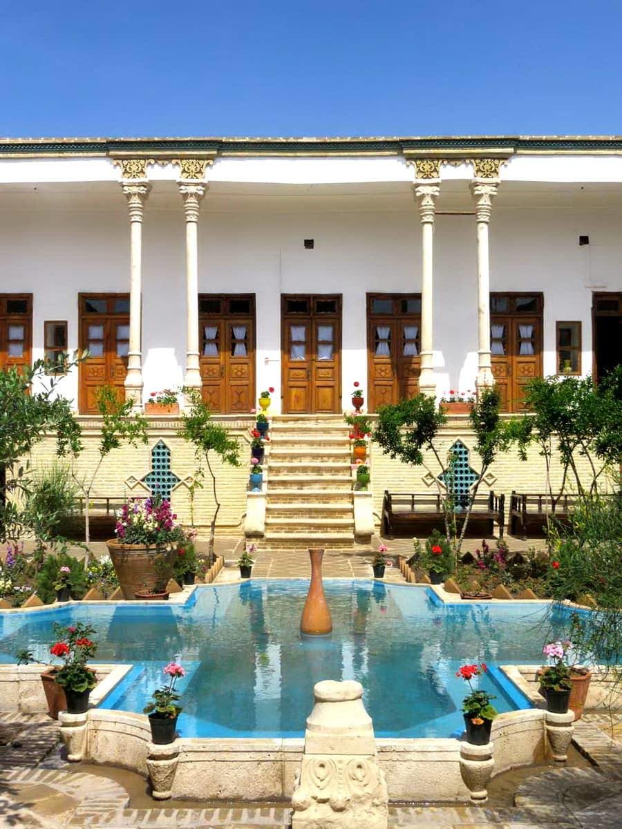 Qom-Casa storica Yazdan Panah