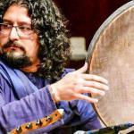 Artista iraniano al SF World Percussion Arts Festival