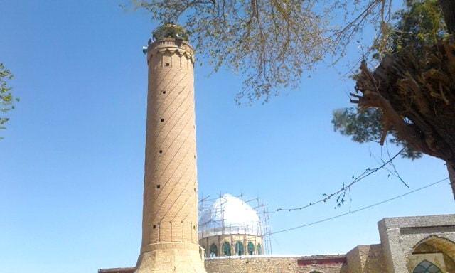 minareto moschea città di Khāsh