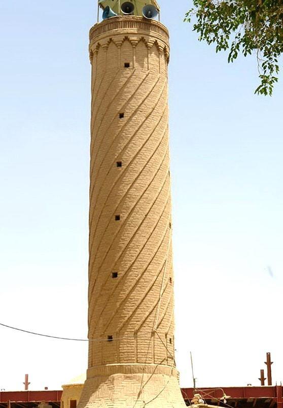 Sistan e Baluchistan-Il Minareto Masjid-e-Jamé (La grande Moschea) della città di Khash