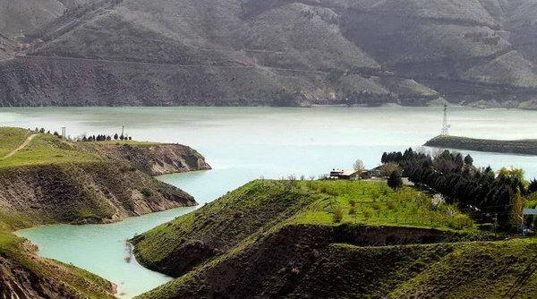 Lago della diga Latiān