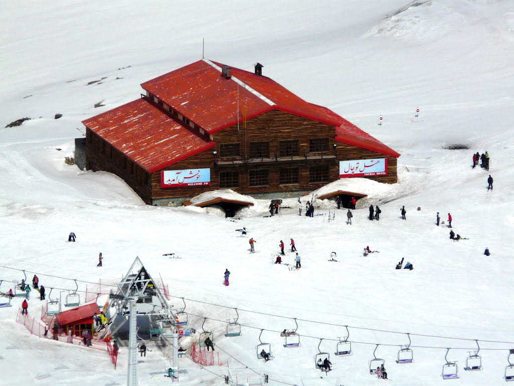 Tehran-Tochal mountains and ski resorts