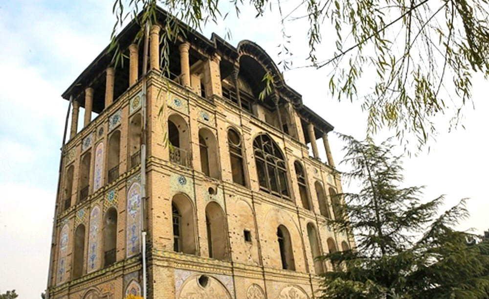 Tehran - Palace Of Saltanat Abad