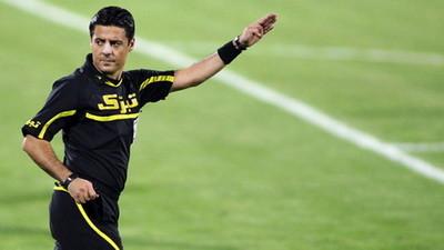 Alireza Faghani parmi les meilleurs arbitres du monde du football