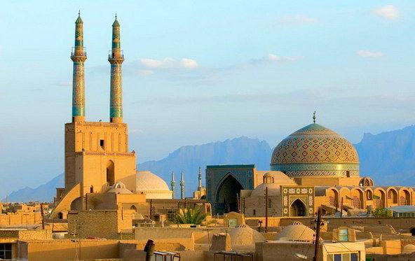 Masjid-e-Jamé Yazd (La grande Moschea)
