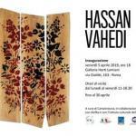 La mostra delle opere degli artisti Hassan e Mojtaba Vahedi