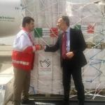 Гуманитарная помощь Италии для чрезвычайного наводнения в Иране