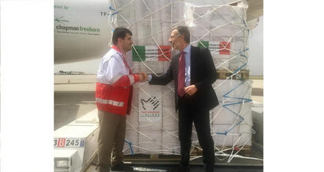 Humanitarian aid from Italy for the extraordinary flood in Iran
