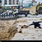 Raccolta degli aiuti umanitari a favore della popolazione colpita dall'alluvione in Iran.