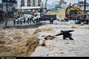 Паводкі ў Іране