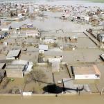 جمع آوری کمک های انسان دوستانه برای هم وطنان سیل زده