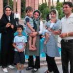 Iranska družina - meni