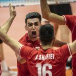 Volley, Iran solo in vetta, Prima qualificata
