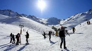La instal·lació d'esquí de Khoshaku