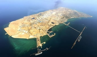 Insel Khārg oder Khark