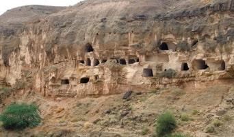 Antica grotta Chehel Khaneh