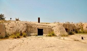 Alter Friedhof der Insel Khark