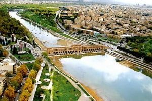 Ο ποταμός Zayande Rud