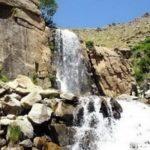 Ganjnameh waterfall