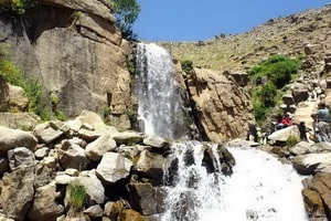 Ganjnāmeh vodopad