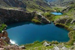 Twin Lakes Siah Gav (Siāg Ow: blue blue water)