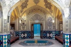 Hamam-e Fin (Баните на Баг-е Фин)