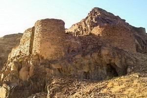 古代の要塞ハッサンアバド