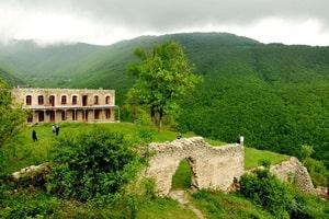 Palace og have i Rāmsar