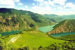dæmningen af Soleimān Tangeh (Soleimān sundet)