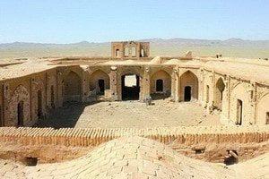 Mohammad Abad caravanserai de pedra