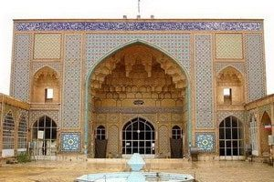 Mosque in Jame'h Qom