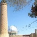 Minareto della moschea Jām'eh della città di Khāsh