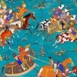Персийско изкуство в Музея на Виктория и Албърт в Лондон