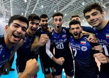 Volley under 21 Iran