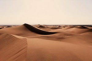 Le désert