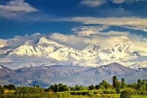 Il monte Sabalān