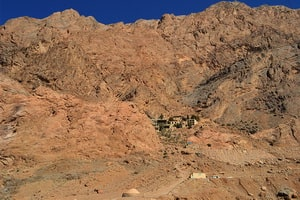 Valleys and summer resorts of the Yazd region