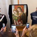 ف نقاشی مسروقه مریم مقدس و کودک اثر پینتوریکیو