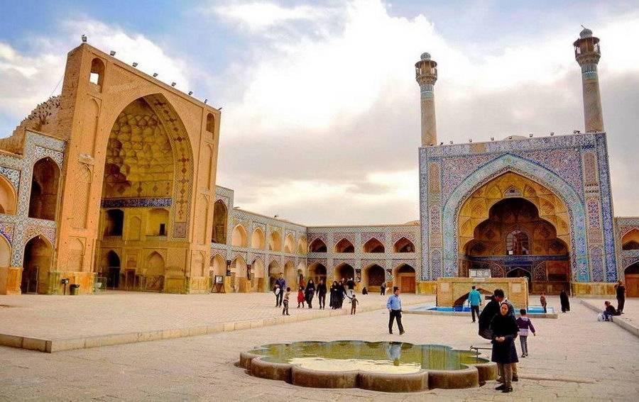 Esfahan-Moschea Jom'e (Moschea del Venerdì)
