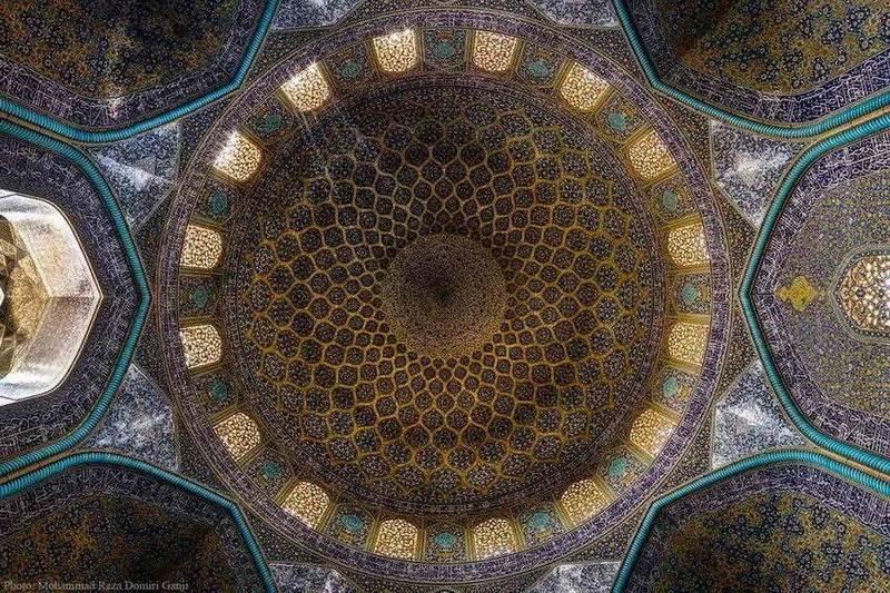 Esfahan - džamija šejha Lotfolaha