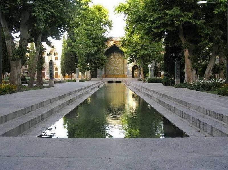 Esfahan - Teološka škola u Chahar Baghu