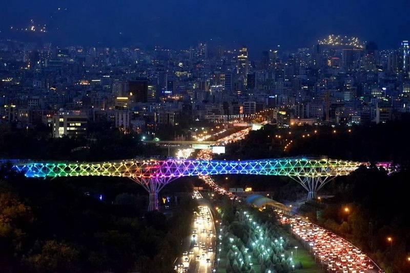 Tehran-Ponte Della Natura - Ponte Tabia't