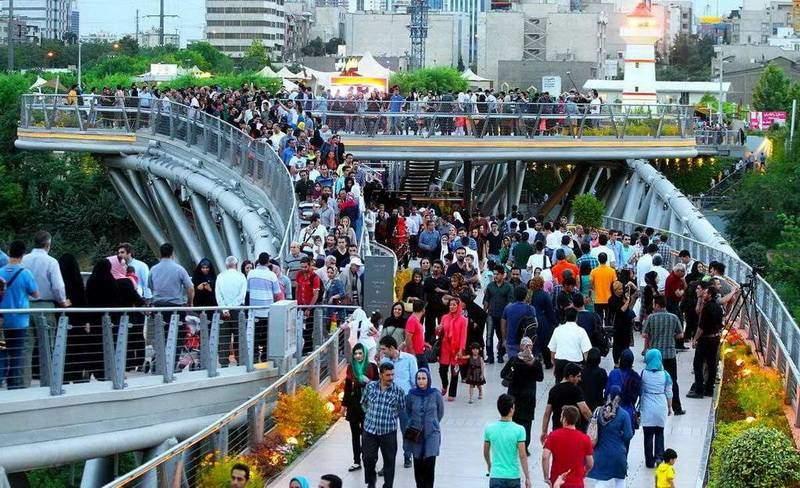 Тегеранський міст природи - Табіадський міст