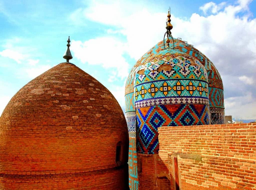 El mausoleu Sheikh Safi-ad-din Ardabili