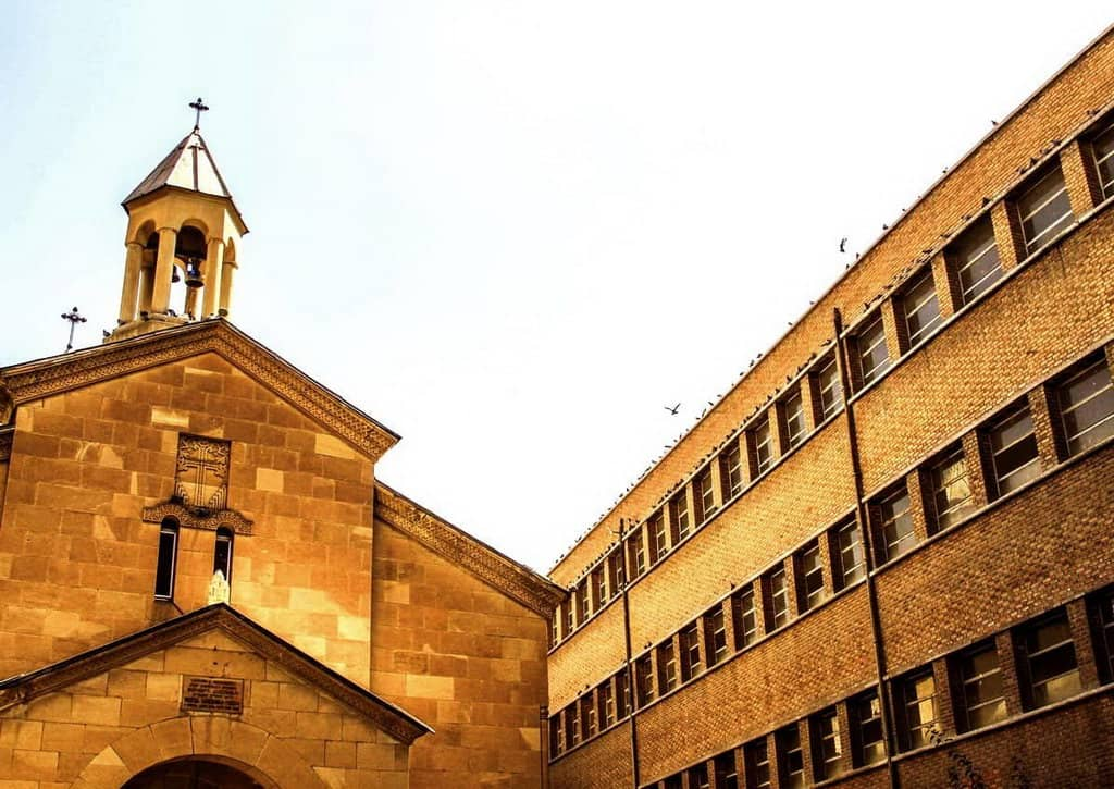 Тегеран-Церква Діви Марії