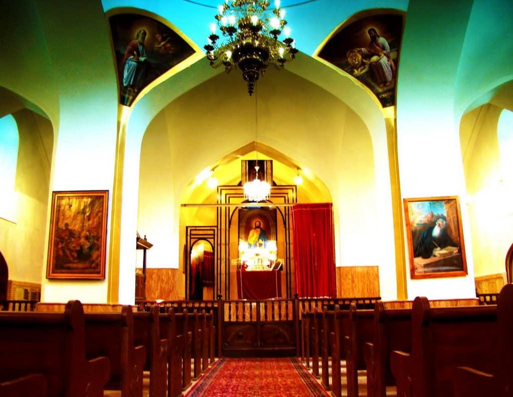 Teheran-Chiesa della Vergine Maria