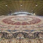 Най-големият килим в света в Тебриз
