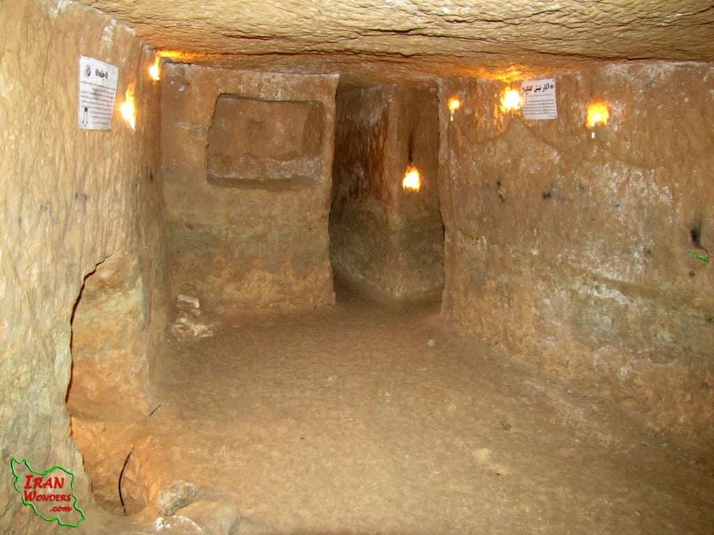 Città sotterranea Nush Abad