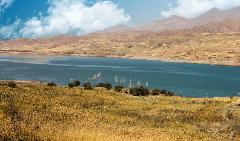 Lago della diga Talaghan