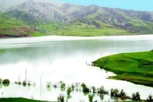 Jezero jezera Talaghan